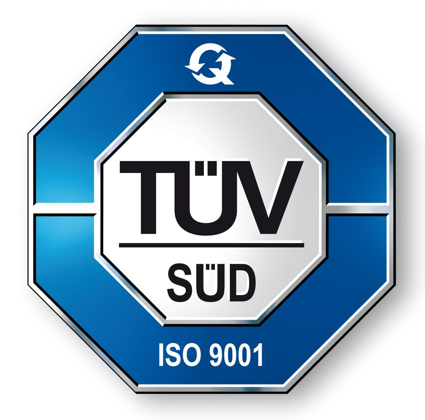 TUV SUD ISO9001